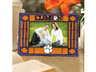 Clemson Tigers Art Glass Picture Frame Bed & Bath