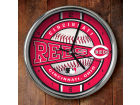 Cincinnati Reds Chrome Clock Bed & Bath