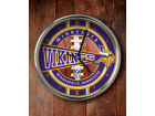 Minnesota Vikings Chrome Clock Bed & Bath
