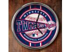 Minnesota Twins Chrome Clock Bed & Bath