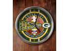Green Bay Packers Chrome Clock Bed & Bath