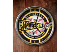 Pittsburgh Pirates Chrome Clock Bed & Bath