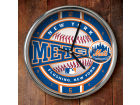 New York Mets Chrome Clock Bed & Bath