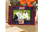 New York Giants Art Glass Picture Frame Bed & Bath