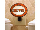 Cleveland Browns Art Glass Night Light Knick Knacks