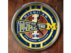 Michigan Wolverines Chrome Clock Bed & Bath