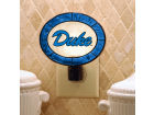 Duke Blue Devils Art Glass Night Light Bed & Bath