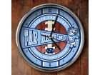 North Carolina Tar Heels Chrome Clock Bed & Bath