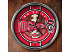 North Carolina State Wolfpack Chrome Clock Bed & Bath