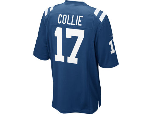 Indianapolis Colts Austin Collie Nike NFL Game Jersey