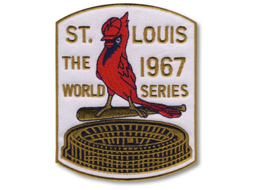 St. Louis Cardinals World Series Champ Patch