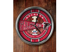 Atlanta Falcons Chrome Clock Bed & Bath