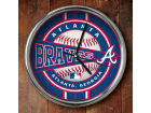 Atlanta Braves Chrome Clock Bed & Bath