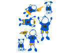 UCLA Bruins Family Decal 6pk Auto Accessories