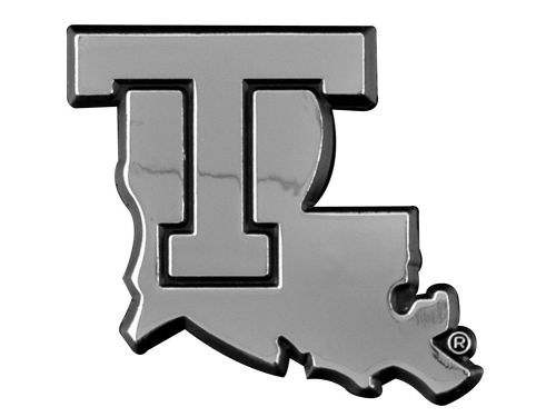 Louisiana Tech Bulldogs Metal Auto Emblem