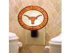 Texas Longhorns Art Glass Night Light Bed & Bath