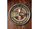New Orleans Saints Chrome Clock Bed & Bath