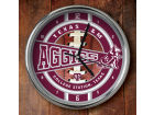 Texas A&M Aggies Chrome Clock Bed & Bath