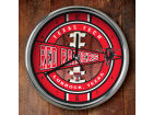 Texas Tech Red Raiders Chrome Clock Bed & Bath