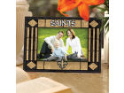 New Orleans Saints Art Glass Picture Frame Bed & Bath