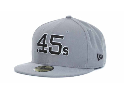Houston Colt 45s MLB Gray BW 59FIFTY Hats