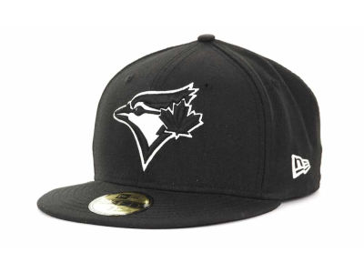 Toronto Blue Jays MLB Black and White Fashion 59FIFTY Hats