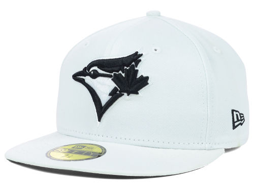 Toronto Blue Jays New Era MLB White And Black 59FIFTY Cap Hats