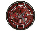 Miami Heat Chrome Clock Bed & Bath