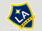LA Galaxy Wincraft Die Cut Color Decal 8in X 8in Bumper Stickers & Decals