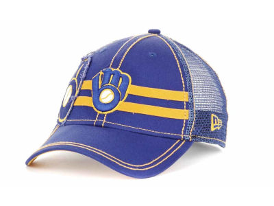 Milwaukee Brewers MLB Slider 39THIRTY Hats