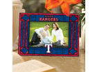 Texas Rangers Art Glass Picture Frame Bed & Bath