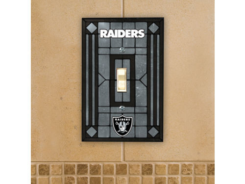 Oakland Raiders Switch Plate Cover