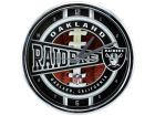 Oakland Raiders Chrome Clock Bed & Bath