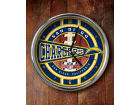 San Diego Chargers Chrome Clock Bed & Bath