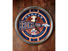 Denver Broncos Chrome Clock Bed & Bath