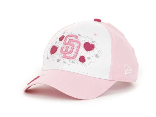San Diego Padres New Era MLB Berry Love 9FORTY Hats