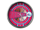 Philadelphia 76ers Chrome Clock Bed & Bath