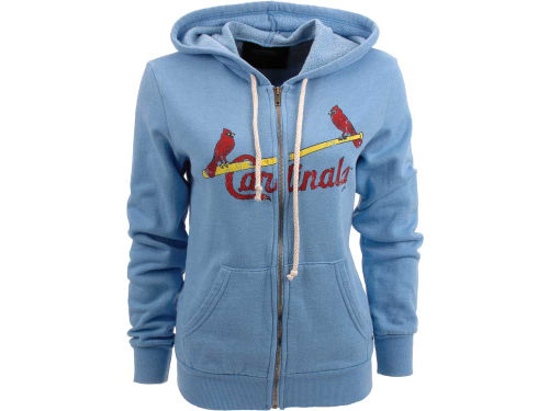St. Louis Cardinals MLB Womens Full Zip Hoodie