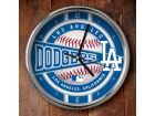 Los Angeles Dodgers Chrome Clock Bed & Bath