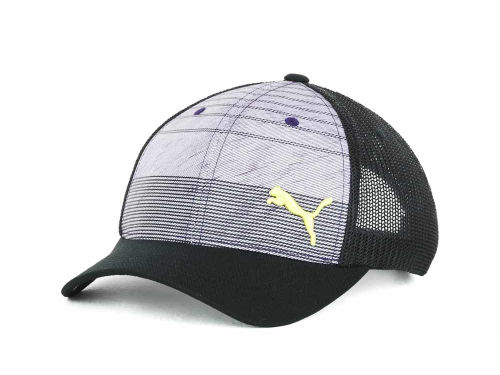 Puma Striped Trucker Cap Hats
