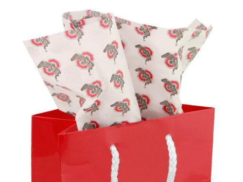 Ohio State Buckeyes Printed Tissue Paper
