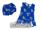Kansas Jayhawks NCAA Newborn Supreme Cheer Dress & Bloomer Set Infant Apparel