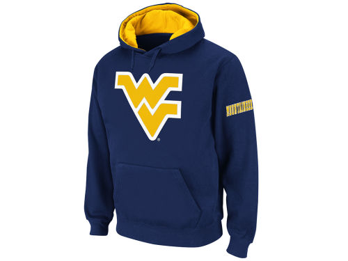 West Virginia Mountaineers Colosseum NCAA Big Logo Hoody