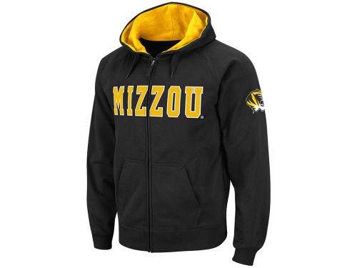Missouri Tigers Colosseum NCAA Block Fullzip Hoodie