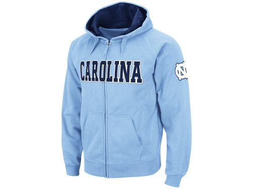 North Carolina Tar Heels Colosseum NCAA Block Fullzip Hoodie