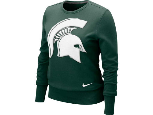 Michigan State Spartans Nike NCAA Womens Crew Fleece