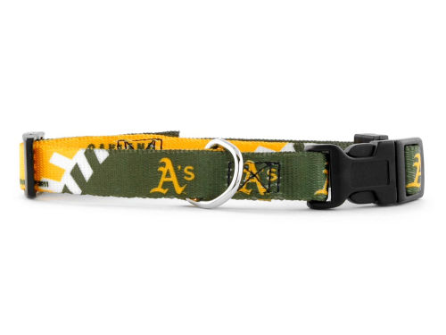 Oakland Athletics Large Dog Collar
