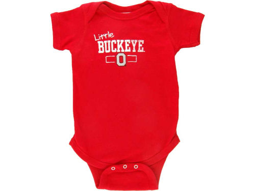 Ohio State Buckeyes NCAA Born Proud Little Buckeye Creeper