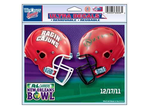 Louisiana Lafayette Ragin Cajuns Wincraft 2011 New Orleans Bowl Duel Ultra Decal