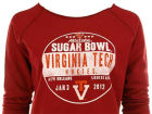 Virginia Tech Hokies Sugar Bowl 2012 Womens Flashdance Crew Sweatshirts